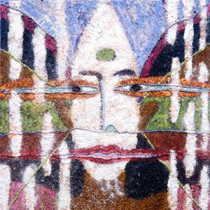 肖像1/ソバ・ワグレー(ネパール)「人間の状況について その2」1998年